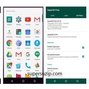 supersu zip Android Nougat